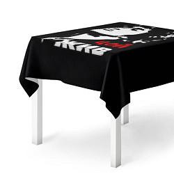 Скатерть для стола Цой жив цвета 3D — фото 2