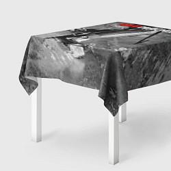 Скатерть для стола Red maсhine цвета 3D — фото 2