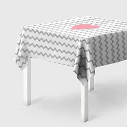 Скатерть для стола Маленькая любовь цвета 3D — фото 2