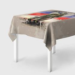 Скатерть для стола Солдат и дитя цвета 3D — фото 2