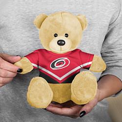 Игрушка-медвежонок NHL: Carolina Hurricanes цвета 3D-желтый — фото 2