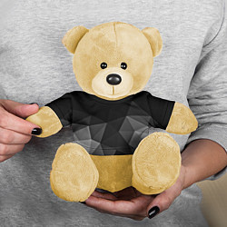 Игрушка-медвежонок Abstract gray цвета 3D-желтый — фото 2