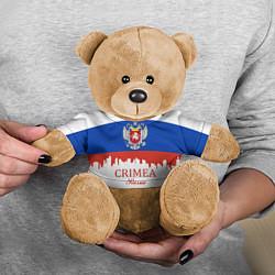 Игрушка-медвежонок Crimea, Russia цвета 3D-коричневый — фото 2