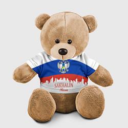 Игрушка-медвежонок Sakhalin: Russia цвета 3D-коричневый — фото 1
