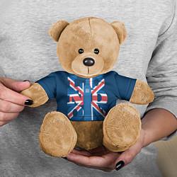 Игрушка-медвежонок London: Great Britain цвета 3D-коричневый — фото 2