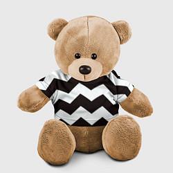 Игрушка-медвежонок Полосы цвета 3D-коричневый — фото 1