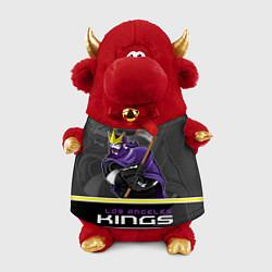 Игрушка-бычок Los Angeles Kings цвета 3D-красный — фото 1