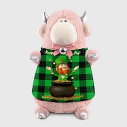 Игрушка-бычок Ирландия цвета 3D-светло-розовый — фото 1