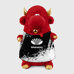 Игрушка-бычок Daewoo: Black Spray цвета 3D-красный — фото 1