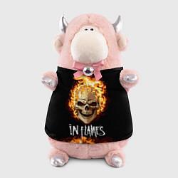 Игрушка-бычок In Flames цвета 3D-светло-розовый — фото 1