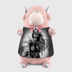 Игрушка-бычок Trap Girl цвета 3D-светло-розовый — фото 1