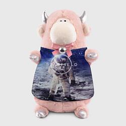 Игрушка-бычок Starfield: Astronaut цвета 3D-светло-розовый — фото 1