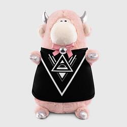 Игрушка-бычок Detsl aka Le Truk: RASTAMAFIA цвета 3D-светло-розовый — фото 1