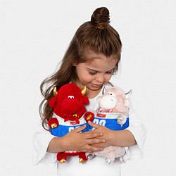 Игрушка-бычок Russia: from 29 цвета 3D-красный — фото 2