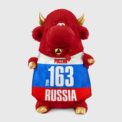 Игрушка-бычок Russia: from 163 цвета 3D-красный — фото 1