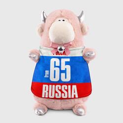 Игрушка-бычок Russia: from 65 цвета 3D-светло-розовый — фото 1