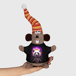 Игрушка-мышка Panda Cosmonaut цвета 3D-серый — фото 1