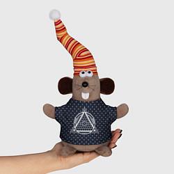 Игрушка-мышка Illuminati цвета 3D-серый — фото 1