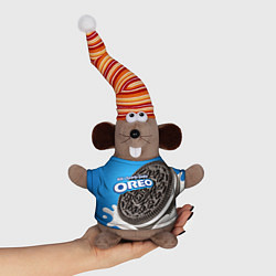 Игрушка-мышка Oreo цвета 3D-серый — фото 1