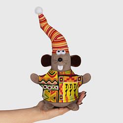 Игрушка-мышка Африка цвета 3D-серый — фото 1