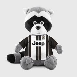 Игрушка-енот Juventus FC: Jeep цвета 3D-серый — фото 1