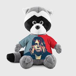 Игрушка-енот Kurt Cobain цвета 3D-серый — фото 1