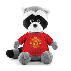 Игрушка-енот FC Manchester United: Creative цвета 3D-серый — фото 1