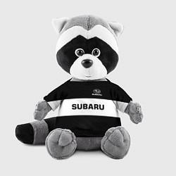 Игрушка-енот Subaru: Black Sport цвета 3D-серый — фото 1