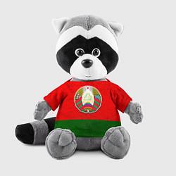 Игрушка-енот Герб Беларуси цвета 3D-серый — фото 1