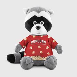 Игрушка-енот Popcorn цвета 3D-серый — фото 1