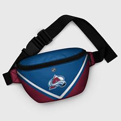 Поясная сумка NHL: Colorado Avalanche цвета 3D-принт — фото 2