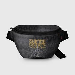 Поясная сумка Suicide Silence: The Black Crown цвета 3D-принт — фото 1