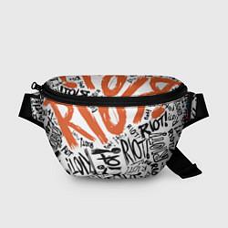 Поясная сумка Paramore: Riot цвета 3D — фото 1
