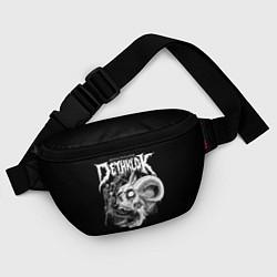 Поясная сумка Dethklok: Goat Skull цвета 3D — фото 2