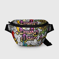 Поясная сумка Break Show Dance цвета 3D-принт — фото 1