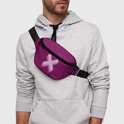 Поясная сумка The XX: Purple цвета 3D — фото 2