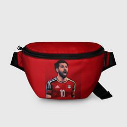 Поясная сумка Мохамед Салах цвета 3D-принт — фото 1