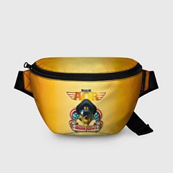 Поясная сумка Bon Jovi, slippery when wet цвета 3D — фото 1