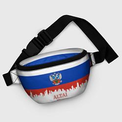 Поясная сумка Altai: Russia цвета 3D — фото 2