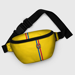 Поясная сумка Молдавия: лента с гербом цвета 3D-принт — фото 2