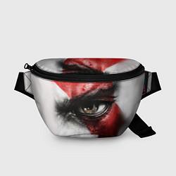 Поясная сумка Взгляд Кратоса цвета 3D — фото 1