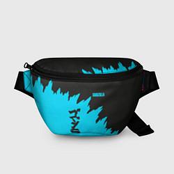 Поясная сумка GODZILLA цвета 3D-принт — фото 1