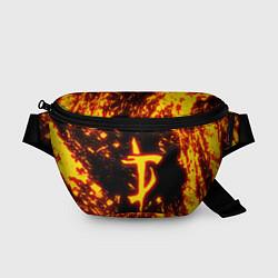 Поясная сумка DOOM: The Crucible цвета 3D — фото 1
