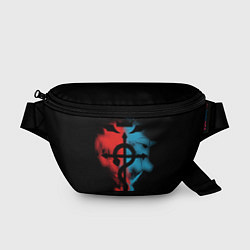 Поясная сумка Стальной алхимик цвета 3D — фото 1