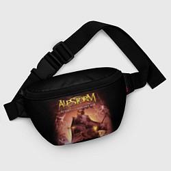Поясная сумка Alestorm: Golden Ship цвета 3D — фото 2