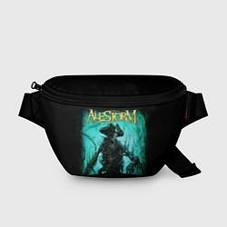 Поясная сумка Alestorm: Death Pirate цвета 3D-принт — фото 1