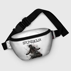 Поясная сумка Stone Sour: Rage цвета 3D — фото 2