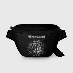 Поясная сумка Meshuggah: Chaosphere цвета 3D-принт — фото 1