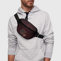 Поясная сумка SCARLXRD: Dark Man цвета 3D — фото 2