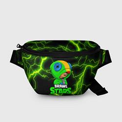 Поясная сумка BRAWL STARS LEON цвета 3D-принт — фото 1